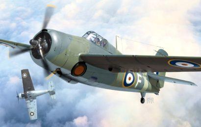 Grumman Martlet Mk.I  1/72  AZmodel