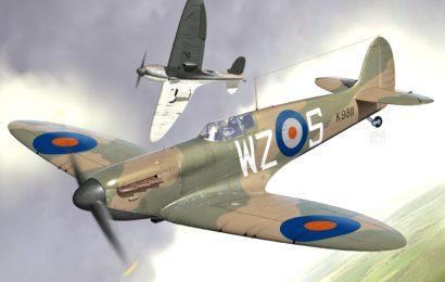 Supermarine Spitfire Mk.1A  1/72  KP- Kovozávody Prostějov