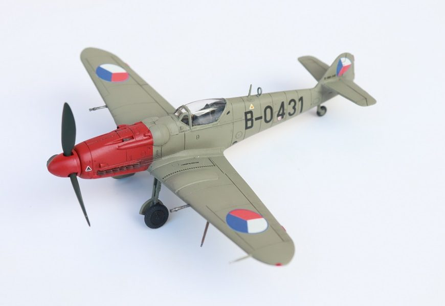 Avia S-199 w/MG-17 1/72 KP