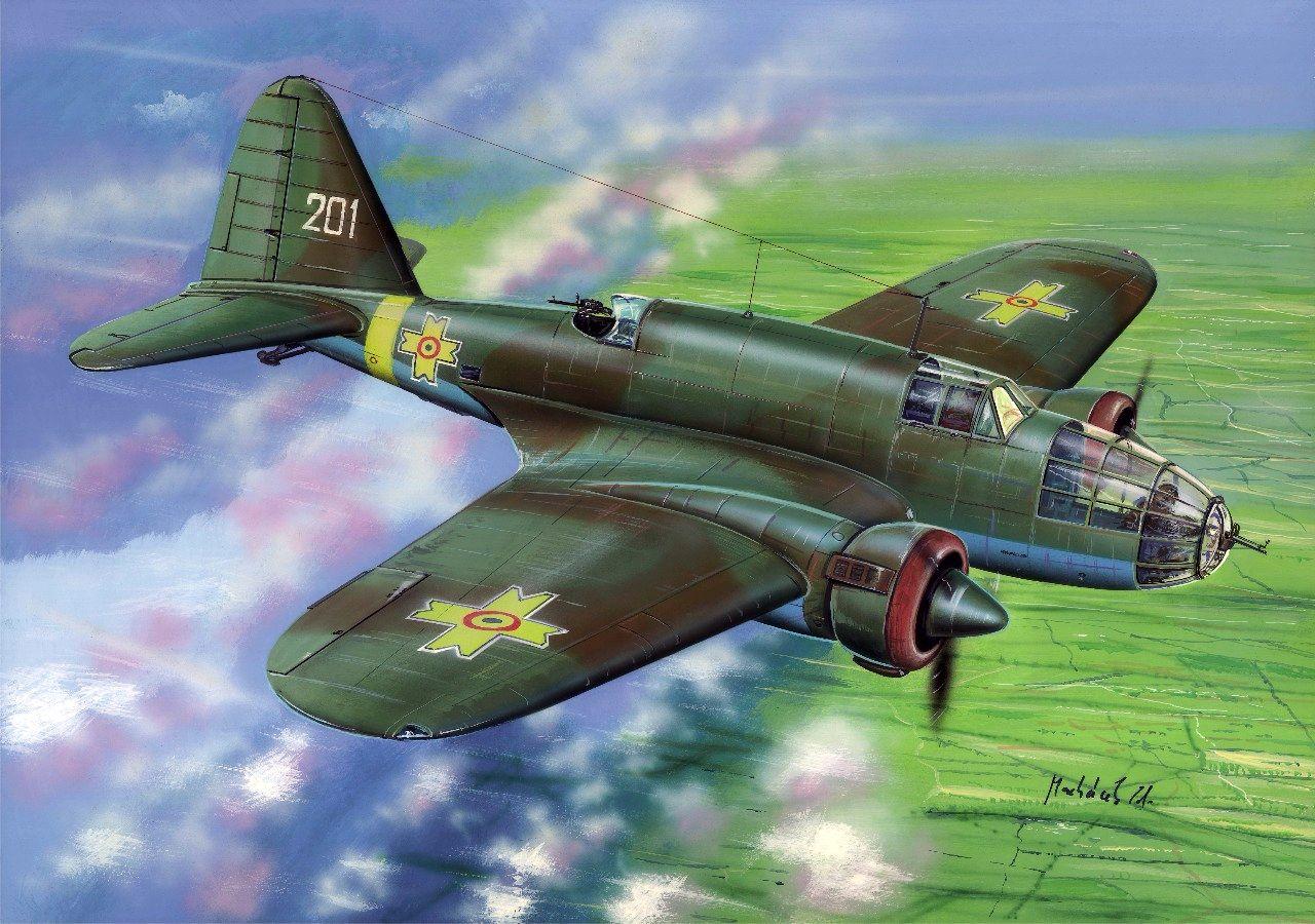 PZL.37 A, FLY 1/72, NÁHLED